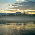 Sunrise on the Squamish River