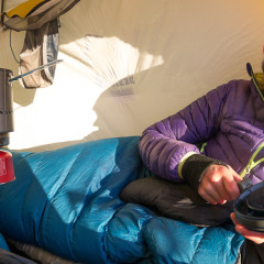MSR Reactor Hanging Kit: Thoughts on stoves in tents