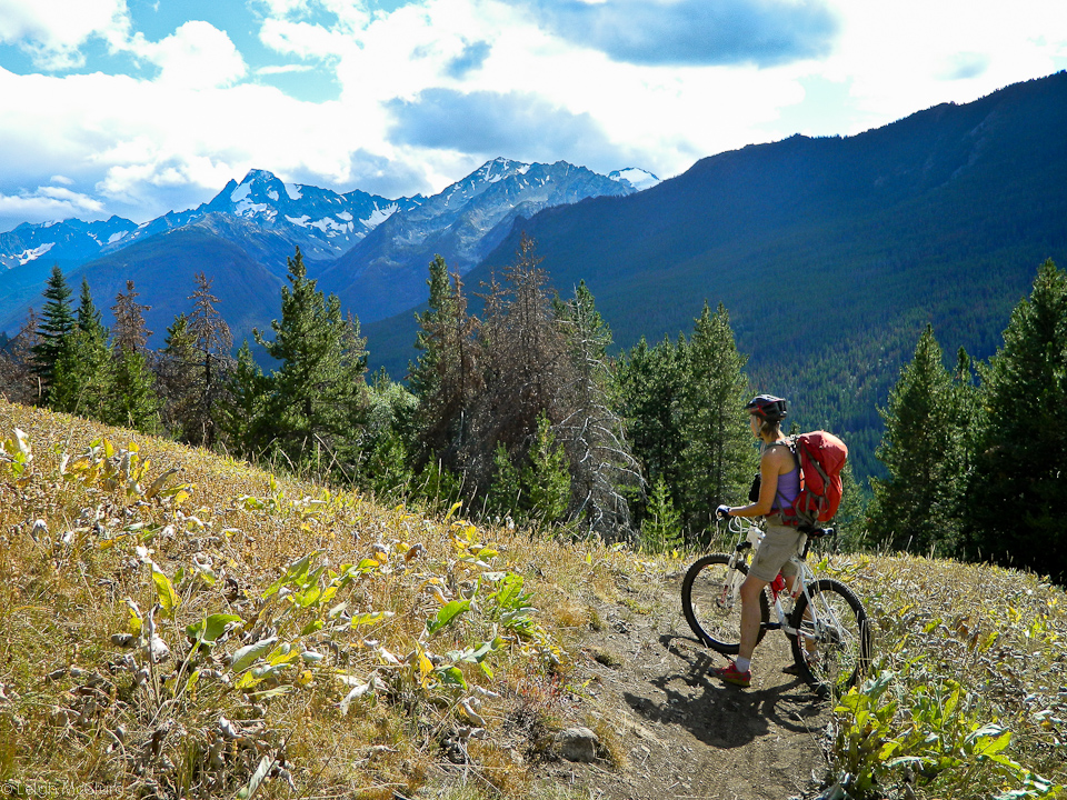 Biking South Chilcotins