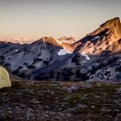 Our first tent: The MSR Mutha Hubba
