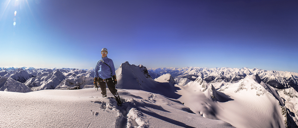 Spring on the summit of Joffre
