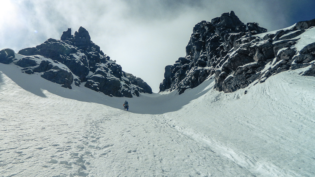 Chute Gully Couloir