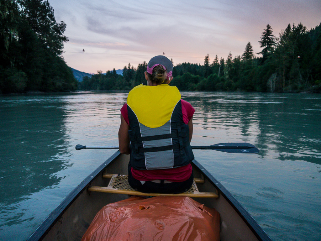 Canoeing the Squamish River