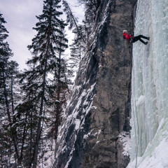 Early Season Ice Climbing