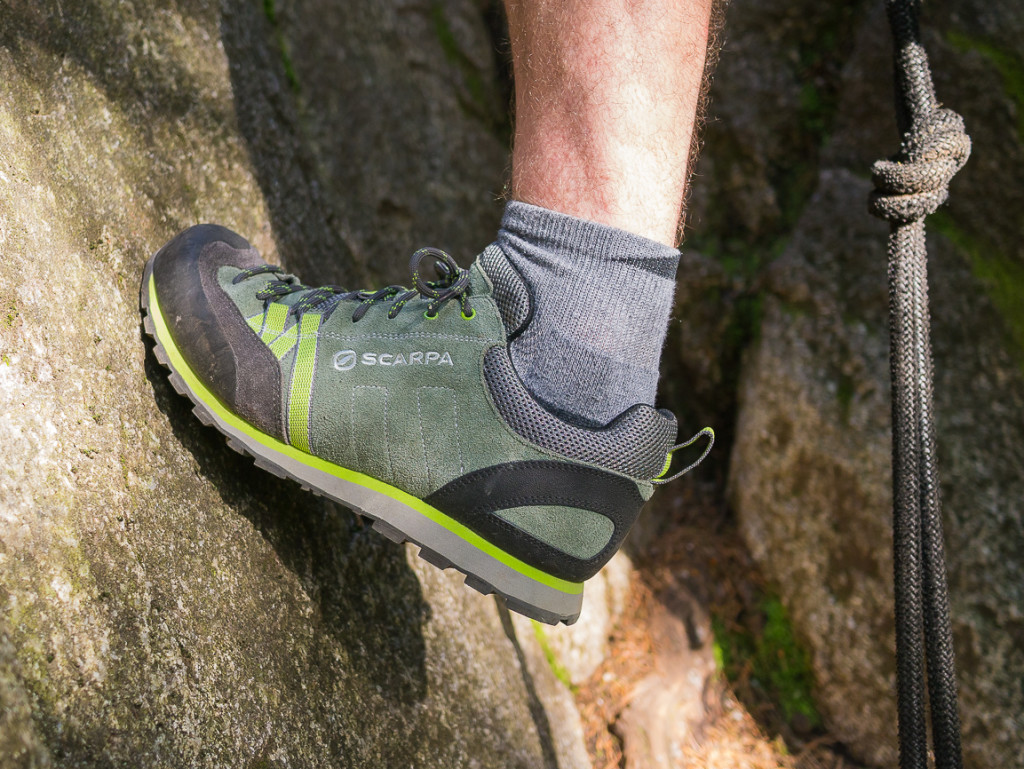 Smearing in the Scarpa Crux Shoe