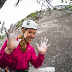 Climbing Rambles and Banana Peel in Squamish