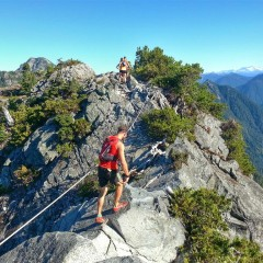 Trailrunning the Howe Sound Crest Trail