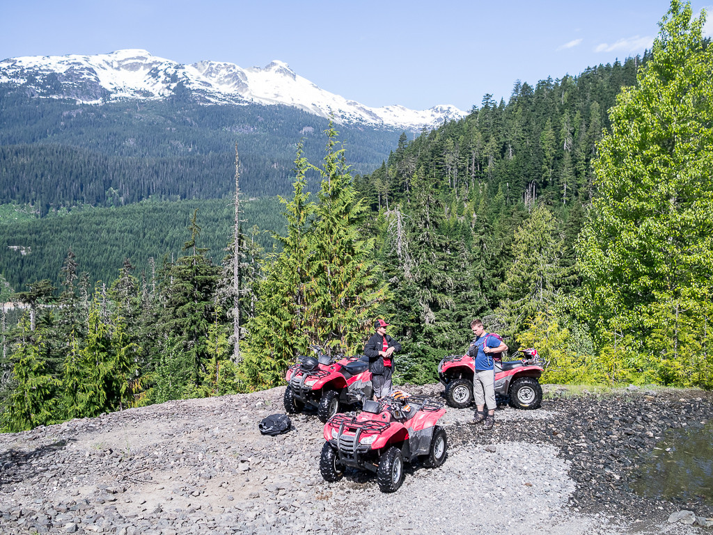 ATV viewpoint with Canadian Wilderness Adventures