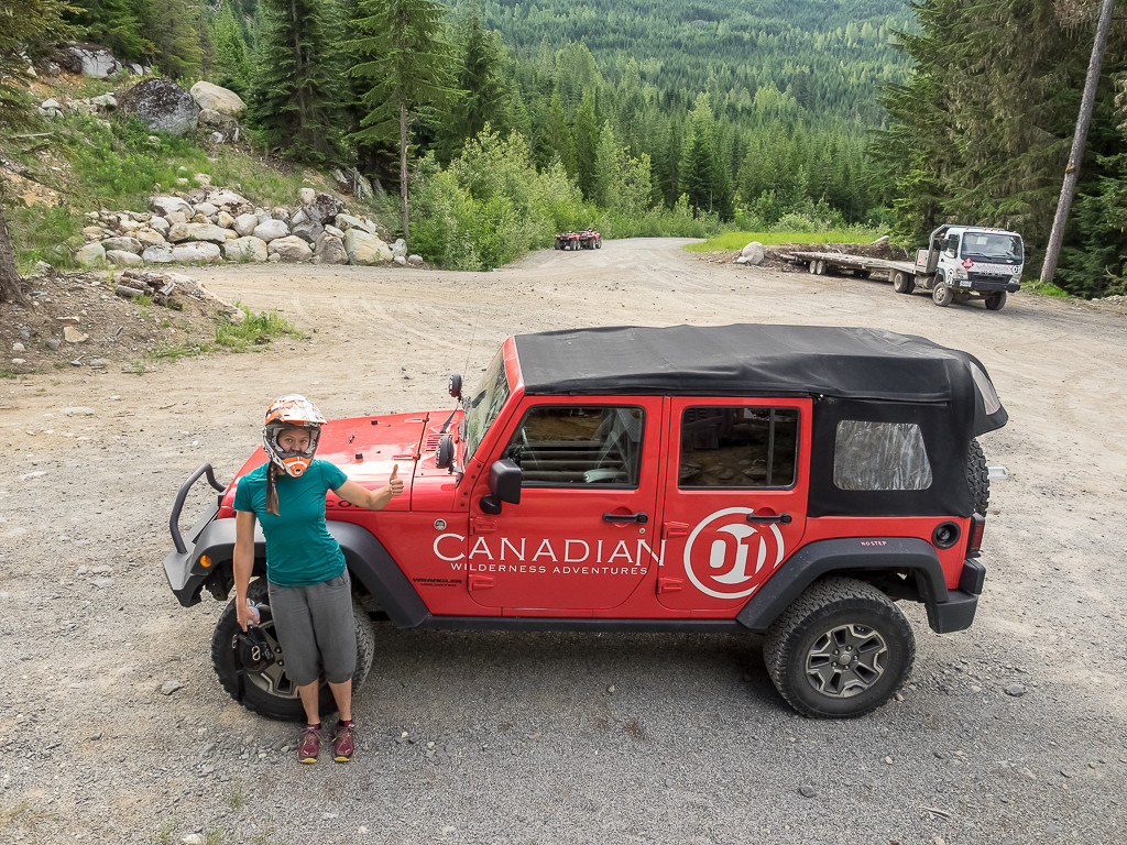 The Classic Canadian Wilderness Adventures Jeep