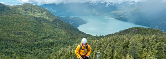 An Adventure on the Squamish Via Ferrata