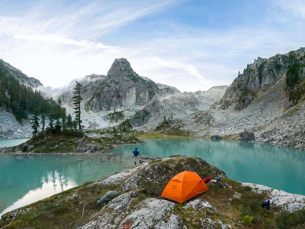 The Kunai 2P tent at Watersprite Lake