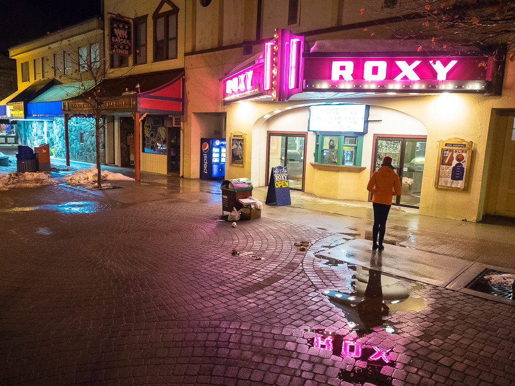 Night at the Roxy in Revelstoke Town