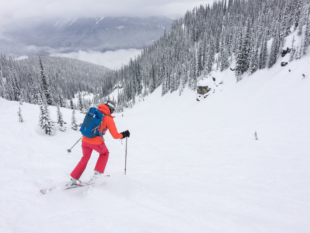 5df900db7d Skiing in Revelstoke Mountain Resort with the Scrambler RT 35