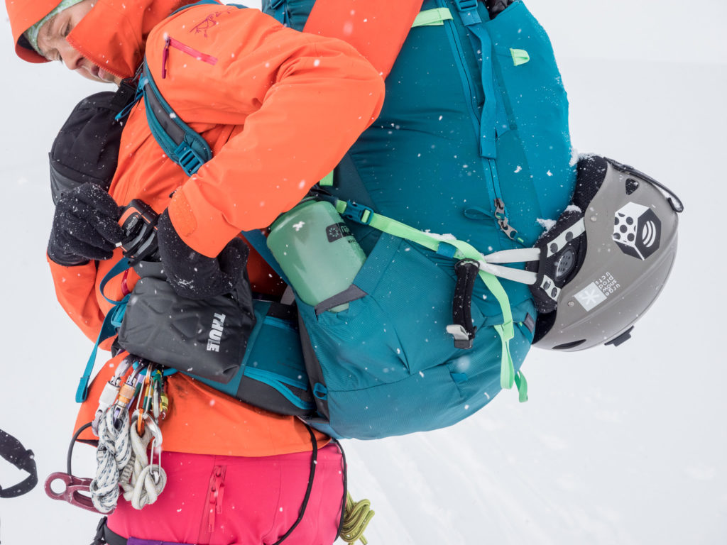 4 days into a ski traverse, getting the inReach out to confirm our location