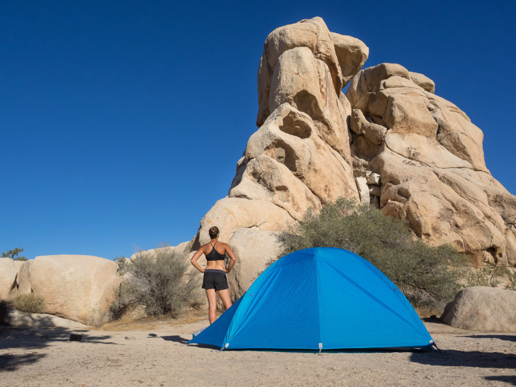 Camping with the OpticVue 2.5 in Joshua Tree National Park