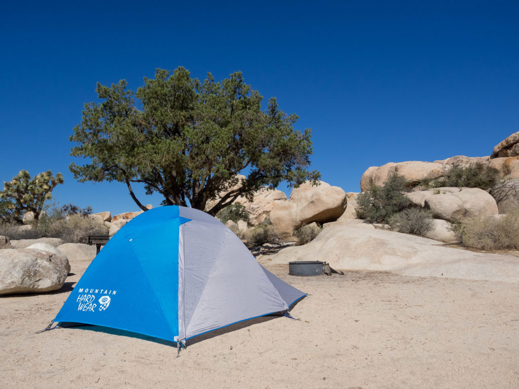 Two tone colouring on the OpticVue 2.5 & Mountain Hardwear OpticVue 2.5 Tent Review