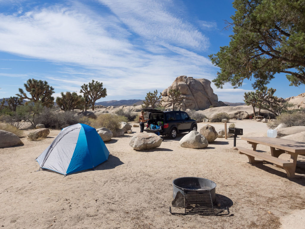 Car camping with the OpticVue 2.5 in Joshua Tree National Park