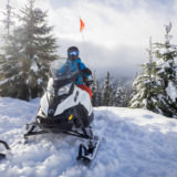 Snowmobile Tours with Canadian Wilderness Adventures
